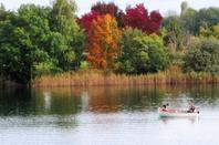 Au Lac de Divonne....automne est magique...