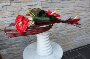 Bouquet de buffet avec formation de cornouiller