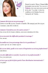 Interview des Acteurs