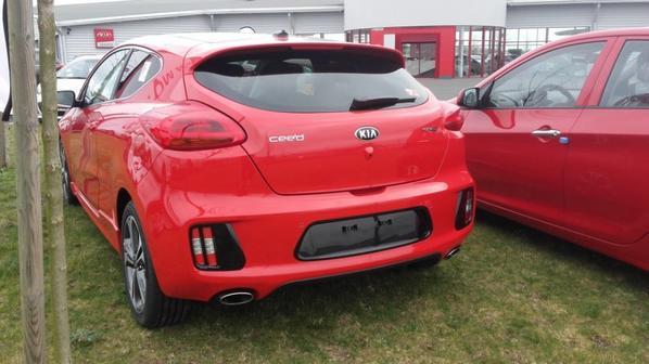 Kia Pro cee'd GT 2014
