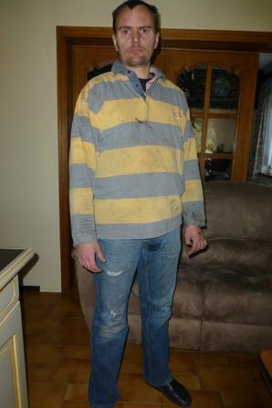 Moi en mode pon�age, le 2 octobre 2013