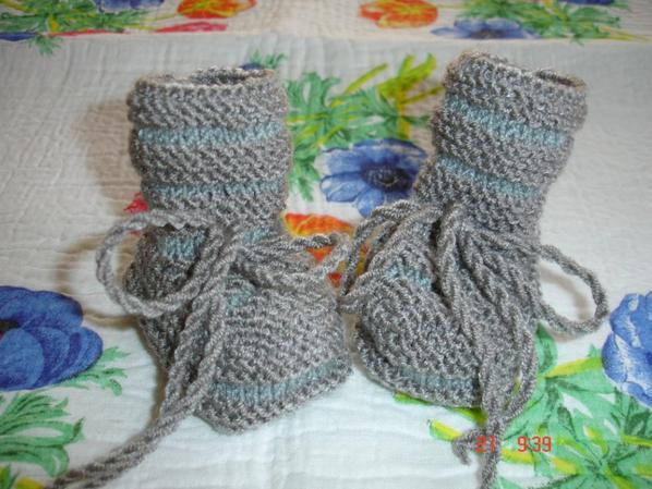 serie de chaussons.