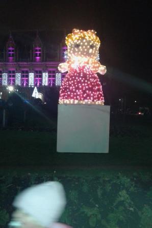 illumination de la mairie 2016