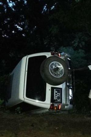 L'ancien président IKI a échappé à un accident grave