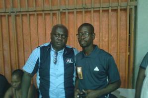 Journaliste de C�te d' Ivoire   Salim Diallo et Benson Pierre Aka