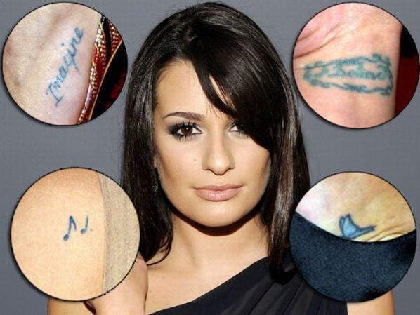 Les tatouages de L�a