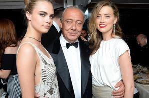 Cara Delevingne & Amber Heard - Soirée de Grisogono, Festival du film de Cannes