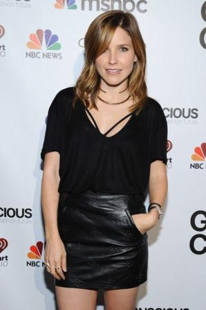 27.09 - Sophia Bush @ Global Citizen Festival VIP Lounge