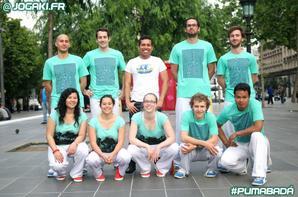 Capoeira Paris Jogaki : spectacle �v�nementiel pour la marque de sport Puma