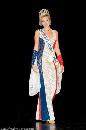 21.10.12 → Christelle �tait � l'�lection de Miss Rh�ne-Alpes 2012, Agathe Martinez.