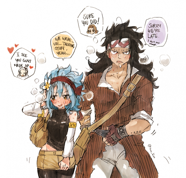 gajeel x levy family - photo #21