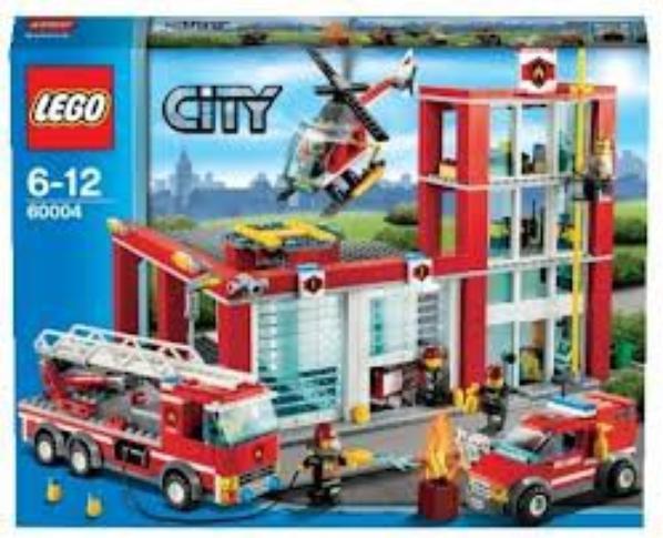 lego 60004 la caserne des pompiers bienvenue. Black Bedroom Furniture Sets. Home Design Ideas