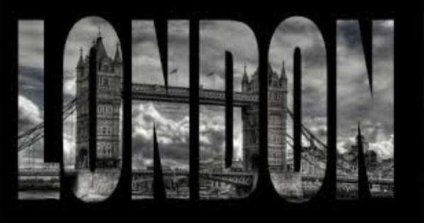 Londres en noir et blanc marina47 - Tableau londres noir et blanc ...