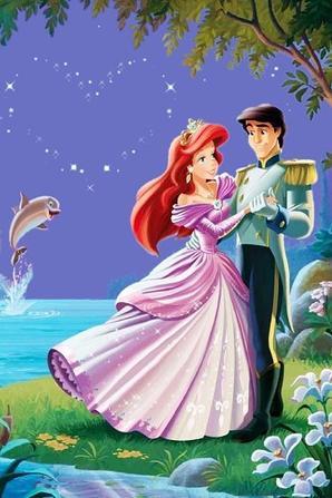 Ariel et son prince blog de princesse disney gifs - Raiponce et son prince ...