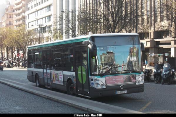 bus 92 cit lis 12 n 8786 les buses et m tros de paris. Black Bedroom Furniture Sets. Home Design Ideas