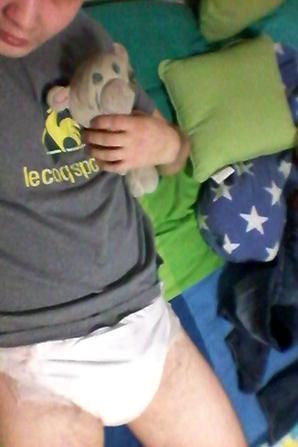 Mes nouvelle couche libero p ma tenue pour se soir et moi en couche si j 39 ai le temps je - J ai couche avec ma voisine ...