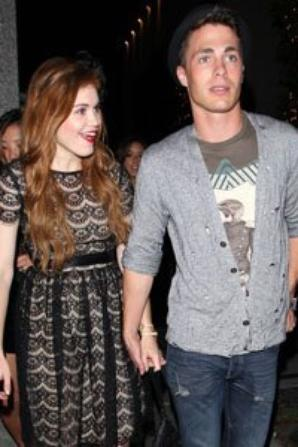 Holland Roden couple