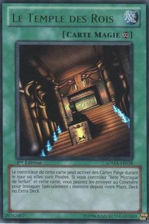 bete mystique de serket + le temple des rois