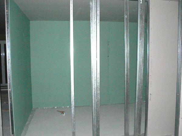 Cr ation salle de bain wc chambre avec isolation for Isolation phonique porte chambre