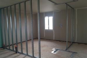 cr ation salle de bain wc chambre avec isolation. Black Bedroom Furniture Sets. Home Design Ideas