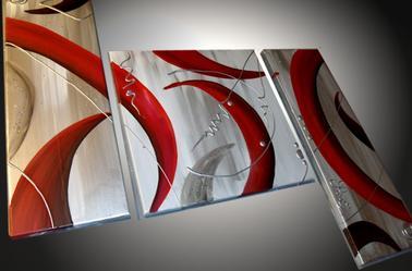 Tableaux abstrait design moderne grand format tableaux abstraits - Tableau design grand format ...