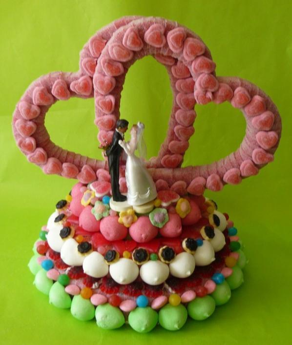 coeur en bonbon pour mariage les jolis bonbons. Black Bedroom Furniture Sets. Home Design Ideas