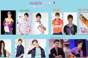 Les personnages de violetta saison 1 bienvenue sur violetta 321 - Violetta personnage ...