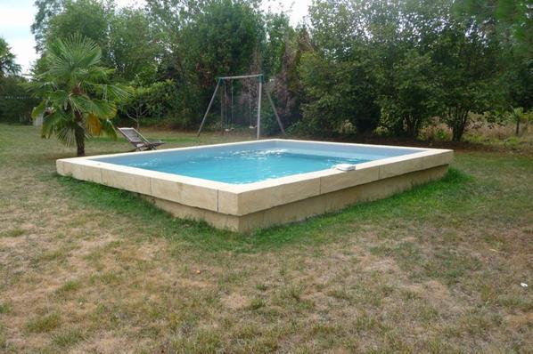 Piscine bassin alain larrey for Bassin piscine
