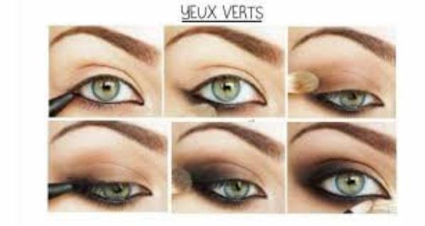 2 Tuto Maquillage Yeux Vert Blog De Tiiphaniie Tuto