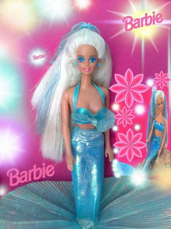 Barbie sirene chevelure enchantee 1991 zoranjan 39 s blog - Barbie barbie sirene ...