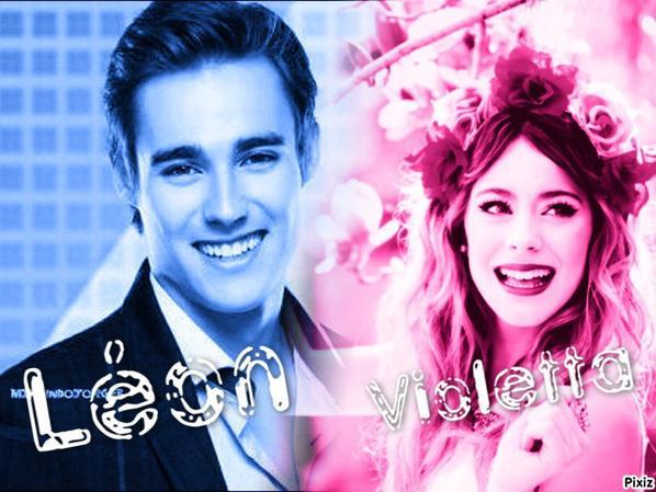 Quel couple pr f rez vous l on et violetta aime diego et - Dessin de violetta et leon ...