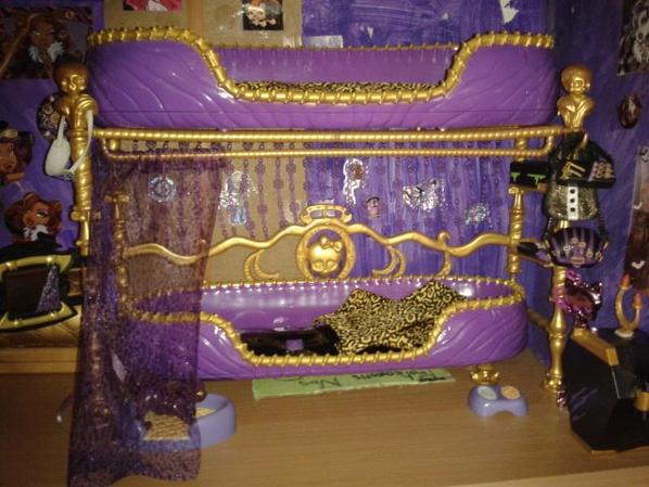 monster high lit de clawdeen wolf blog de monsterhigh1331. Black Bedroom Furniture Sets. Home Design Ideas