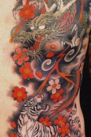 style tatouage japonais un amour de tatouage. Black Bedroom Furniture Sets. Home Design Ideas