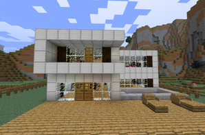 Articles de construction minecraft tagg s maison luxueuse minecraft blo - Construction minecraft maison ...
