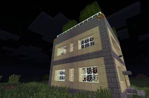 Blog de construction minecraft blog de construction minecraft for Construction de maison sur minecraft