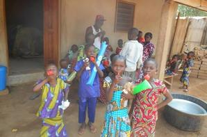Quelques photos de la fête de noël et nouvel an 2013 avec les enfants