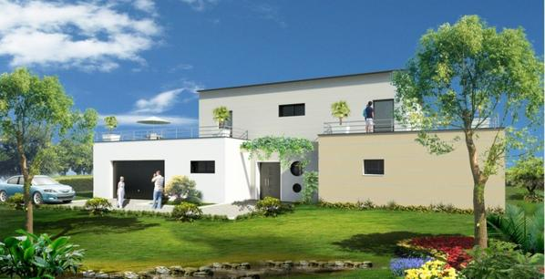 plan de maison m diterran enne de plain pied blog de abdel revit. Black Bedroom Furniture Sets. Home Design Ideas