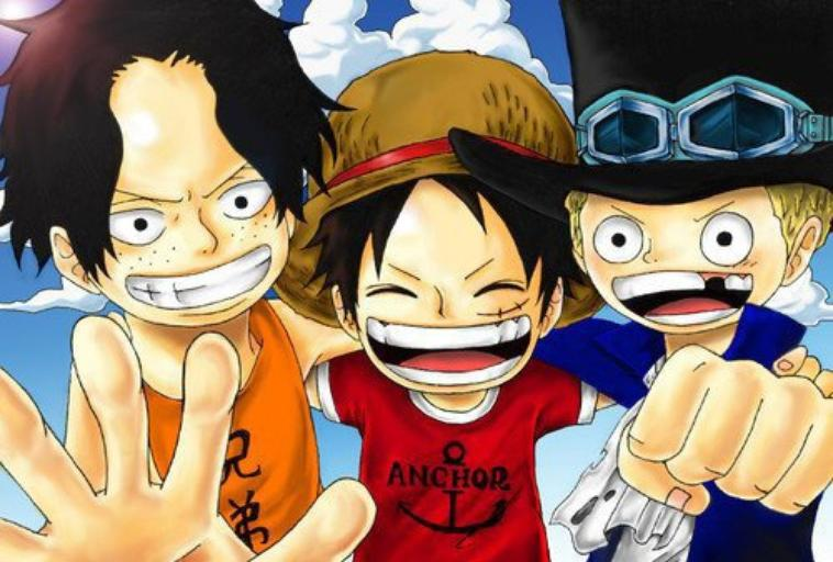 one piece 4 luffy, ace, sabo - Blogue de AloneSirT