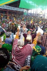 Meeting de JUWA au stade de Missiri