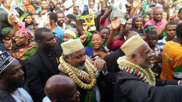 Meeting de FAHMI et SAMBI Anjouan