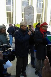 Un succès pour la manifestation de la diaspora