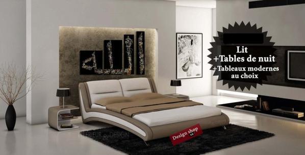 lit design avec clairage led blog de bouziane ahmed ziad. Black Bedroom Furniture Sets. Home Design Ideas