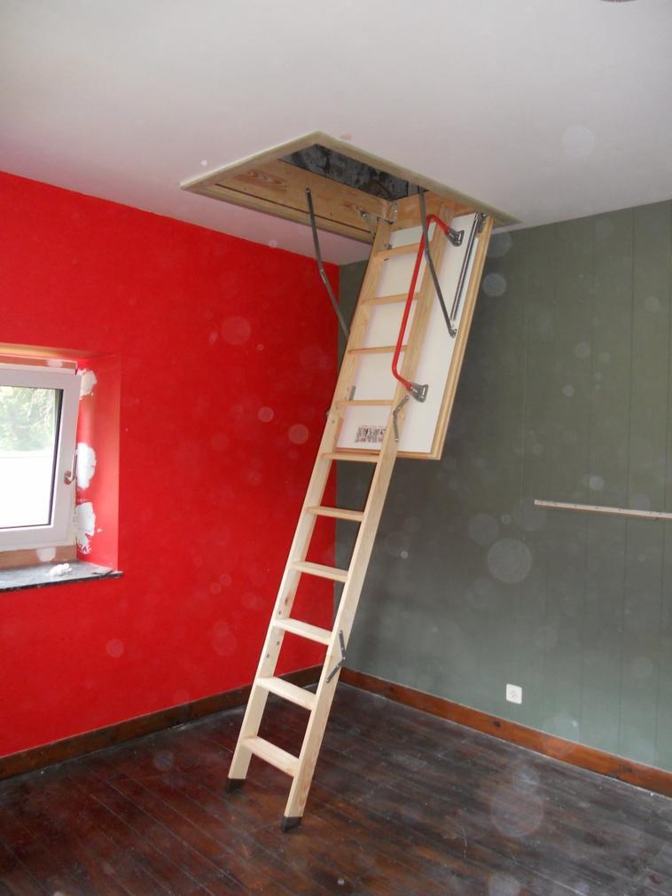 Placement D 39 Un Escalier Escamotable Isol Jean Louis Cornez