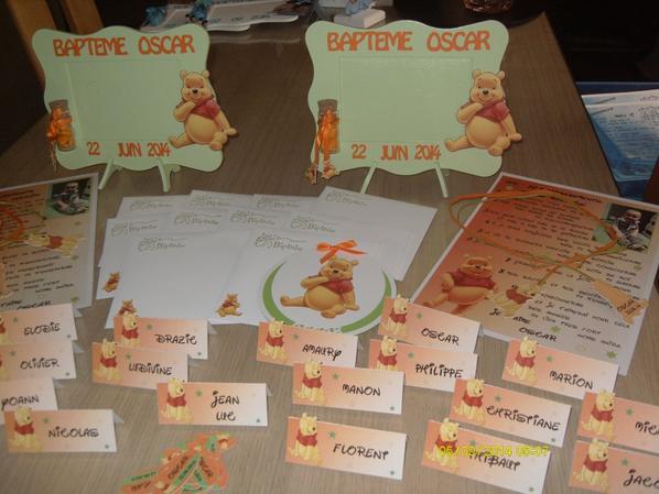 Articles de deco fetes celine tagg s winnie l 39 ourson for Decoration murale winnie l ourson