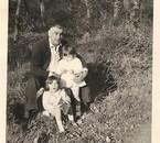 mon papa, ma soeur et moi