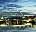 Newcastle upon Tyne - Gateshead Millennium Bridge