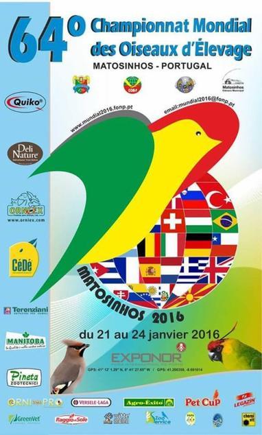 64� CAMPIONATO MONDIALE DI ORNITOLOGIA - MATOSINHOS 2016
