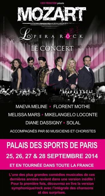 2014 July 20 - Mozart l'Opera Rock le concert, qui vient?