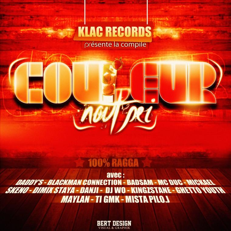 """Klac Records présente la compile """"Couleur Nout' Péï"""""""