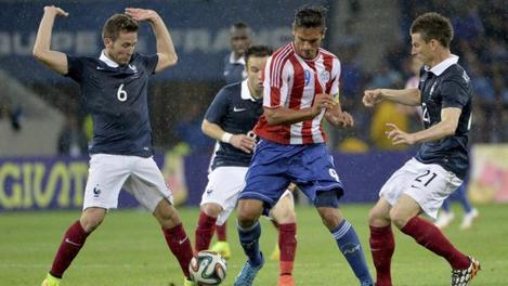 Match nul pour la France face au Paraguay
